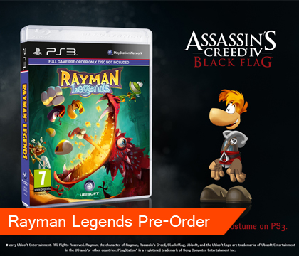 Rayman Goes 20,000 Lums Under The Sea