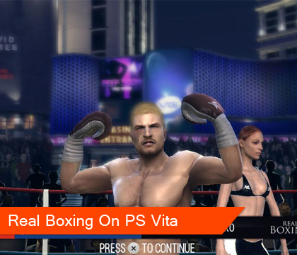 Real Boxing punches its way to PlayStation Vita