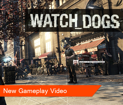 New Watch Dogs Gameplay