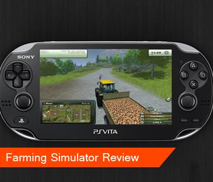 Farming Simulator PS Vita Review