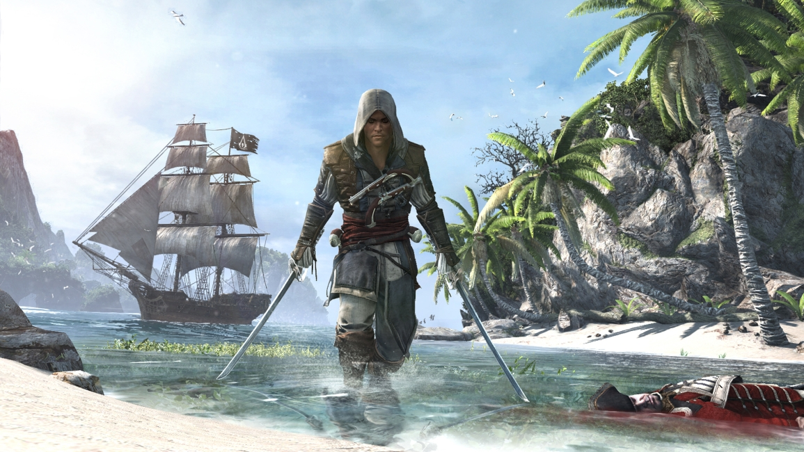 Assassin's Creed IV Black Flag Open World Gameplay
