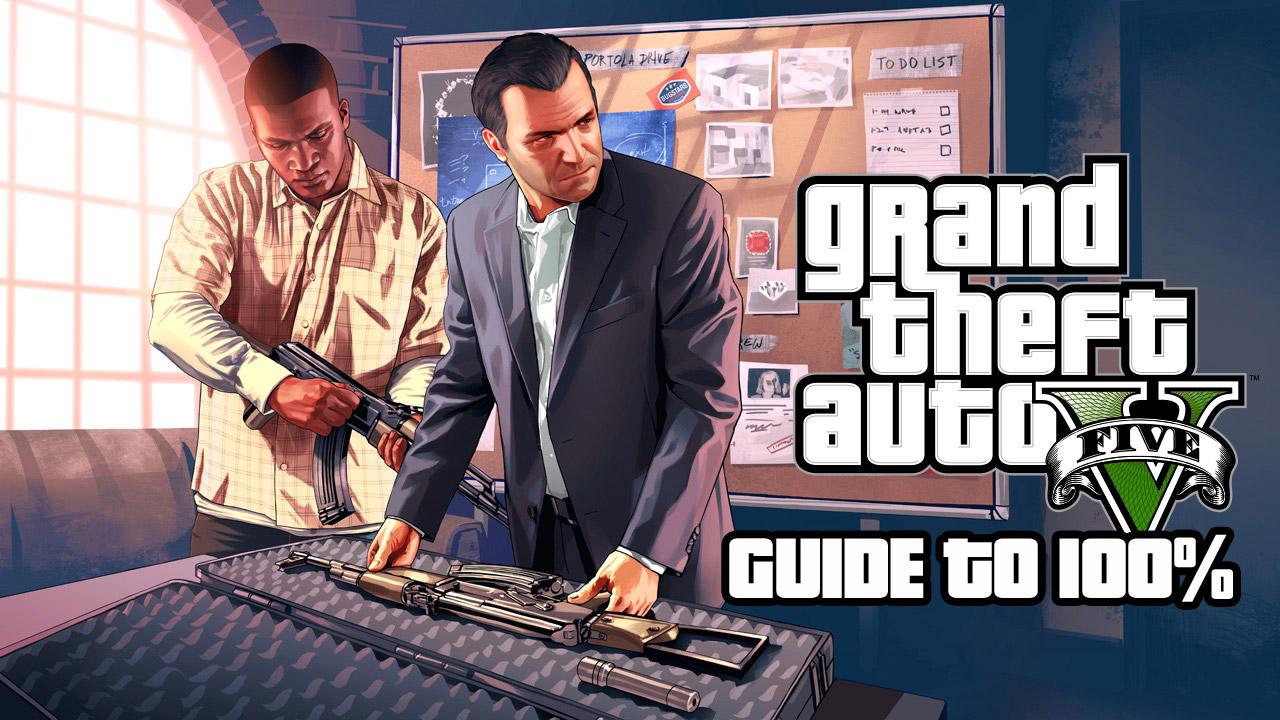 GTAV Guide to 100%