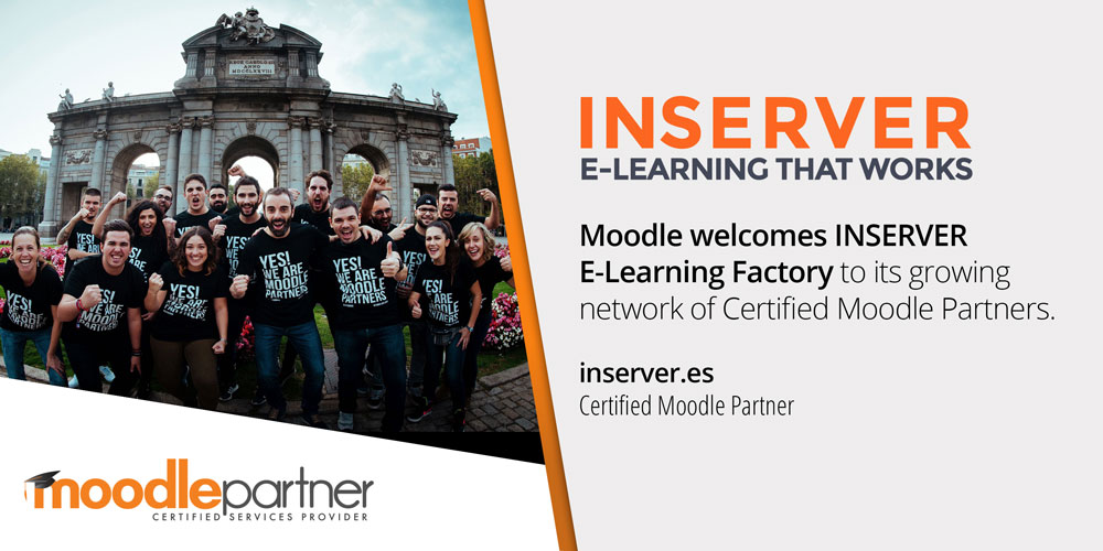 Moodle partners with Inserver