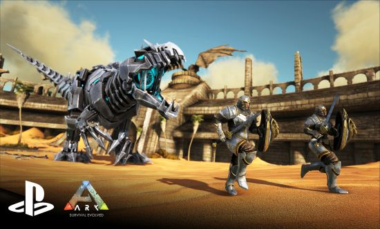 ARK Available Now on PlayStation 4
