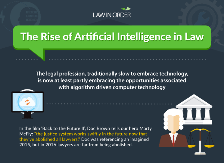 The Rise of Artificial Intelligence in Law
