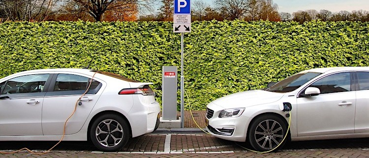 elektrische auto's laden