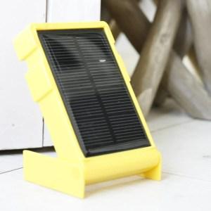 Wakawaka solar lamp op reis