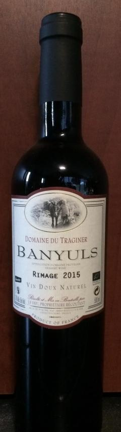 Banyuls Rimage 2016 - Traginer