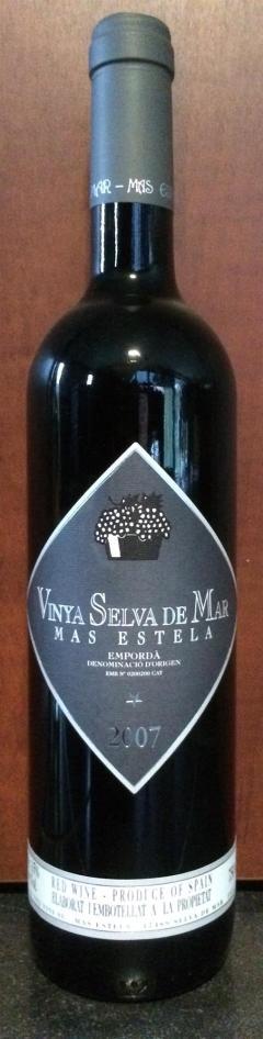Vinya Selva De Mar 2008 - Mas Estela