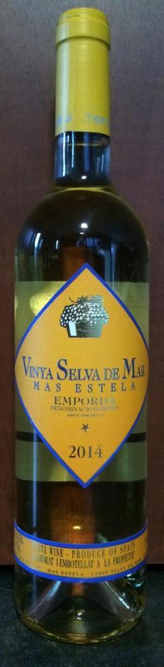 Vinya Selva De Mar 2014 - Mas Estela