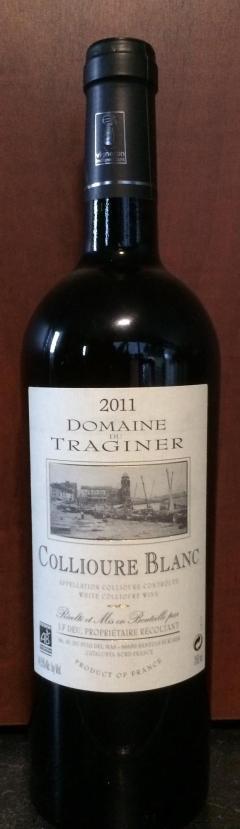 Collioure Blanc 2011 - Traginer