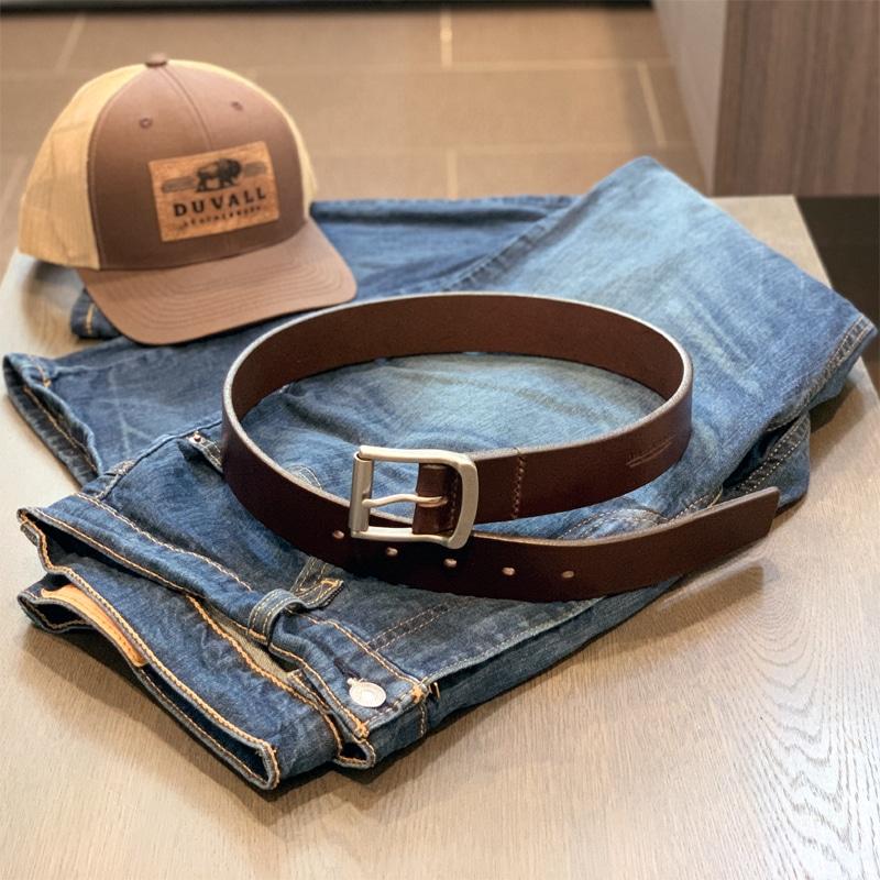 Men's Full Grain Leather Belt