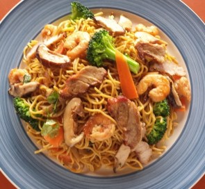 Mi Xao Seafood Noodles