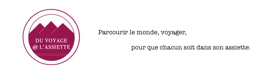 Du Voyage @ l'Assiette