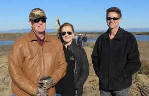 DU Vice President Paul Bonderson, Chief Policy Officer Margaret Everson, and WRO Director Mark Biddlecomb were on hand to watch the Cullinan breach.
