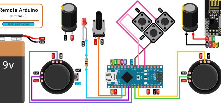 Membuat Remote Control Dengan Arduino