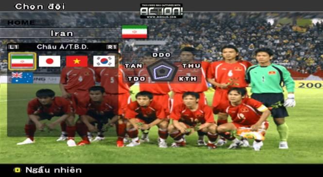 Game đá bóng PES 6 tiếng Việt Đồng Như Kiều full