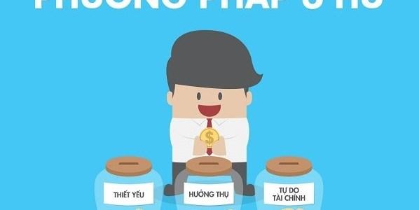 Cách chi tiêu tiền với Phương Pháp 6 Hũ