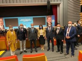 Başkan Özlü belediye başkanları toplantısına katıldı