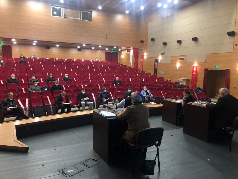 Düzce Belediyesi Kasım ayı meclis toplantısı yapıldı