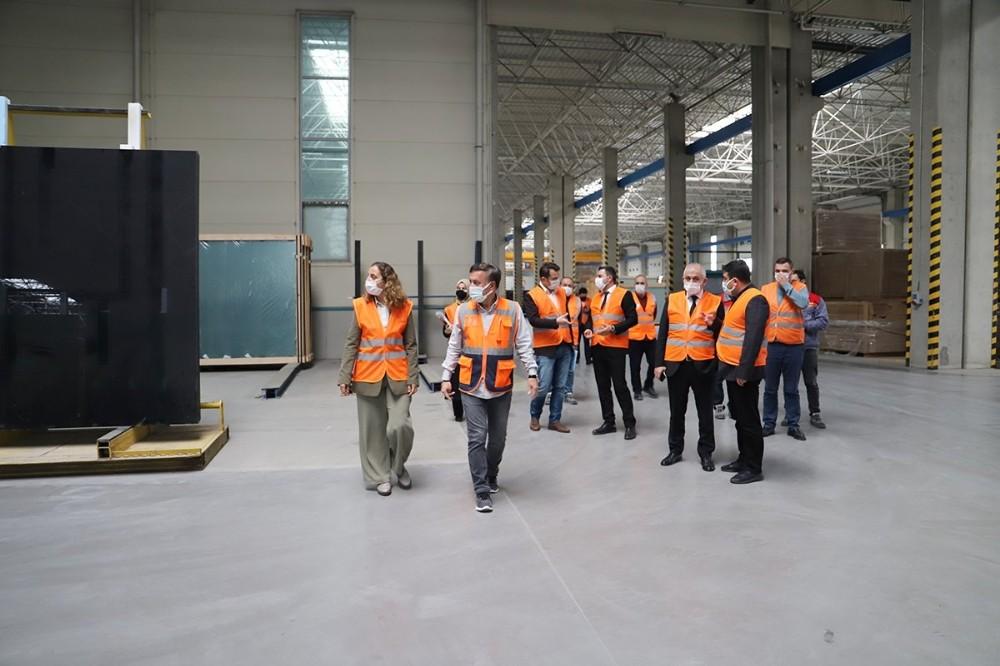 Düzce Cam'a üniversite sanayi işbirliği ziyareti