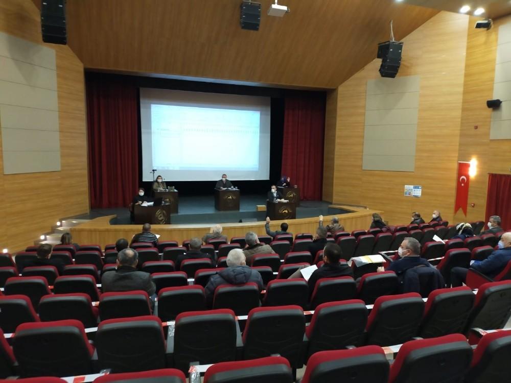 2021'in ilk meclis toplantısı yapıldı