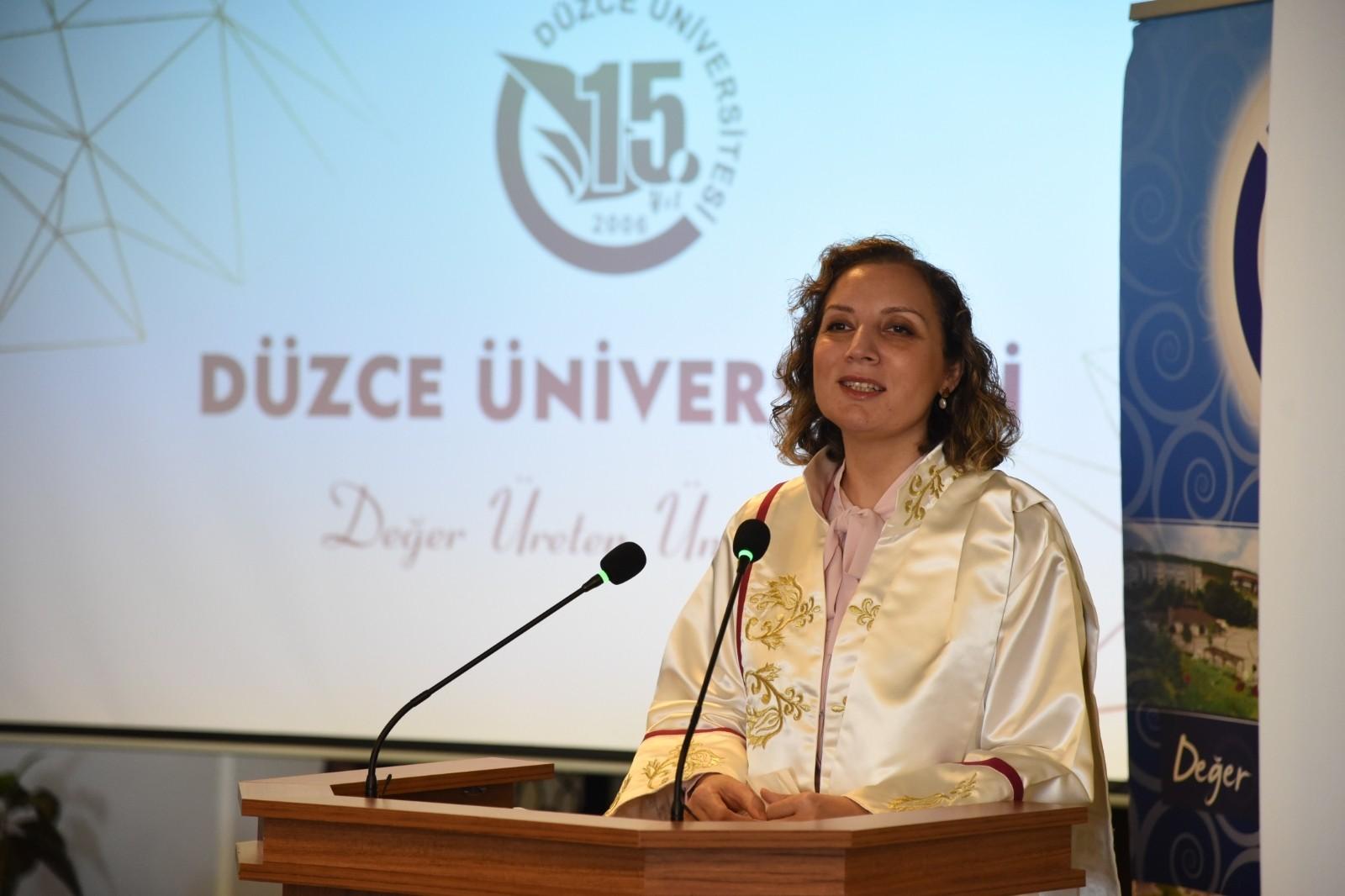 Düzce Üniversitesi'nin 15. yılında 15 ödül