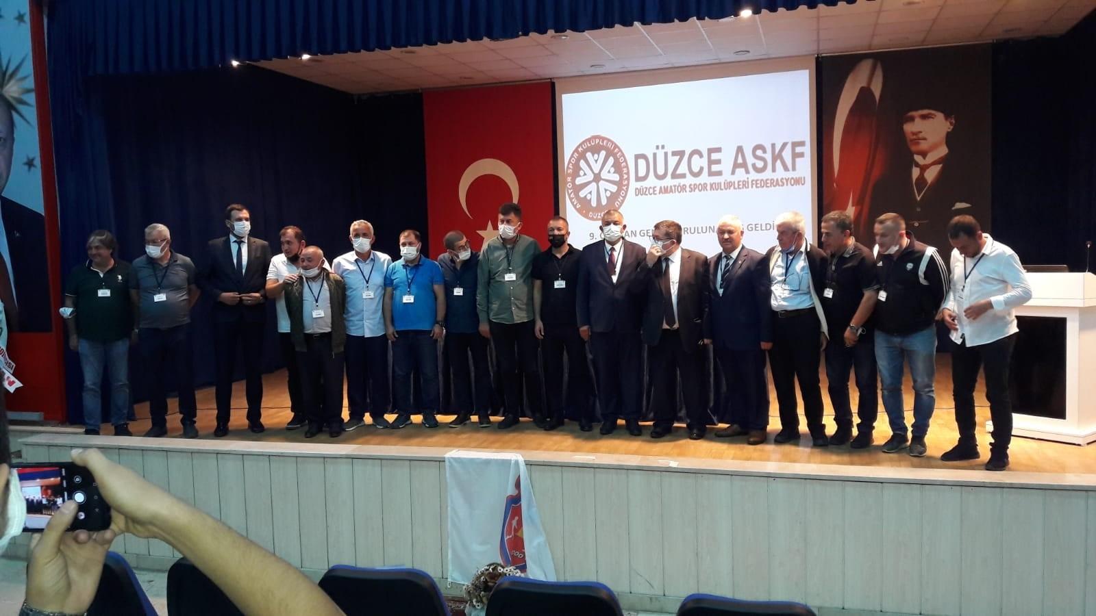 ASKFD'de Erdoğan Bıyık güven tazeledi