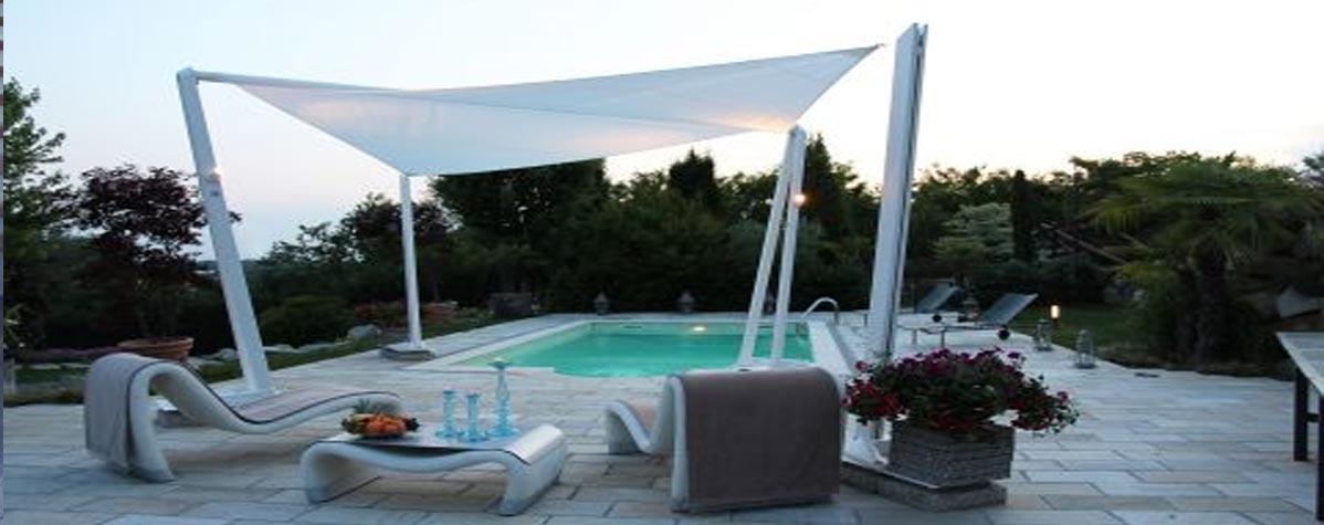 Sun protection, awnings, canapies