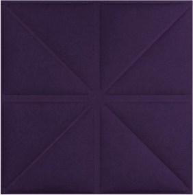 Triangles -purple