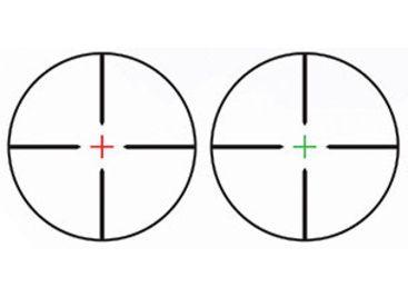 TruGlo Hunt-Tec Compact TG8504AL Riflescope, 4x32mm, Dual
