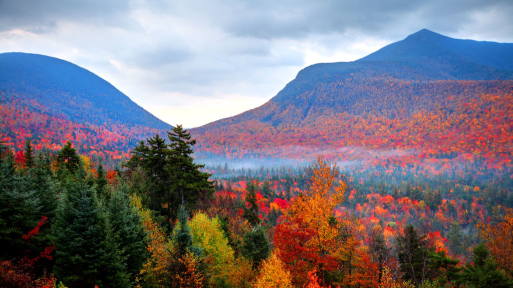 New England Fall Foliage Desktop Wallpaper Autumnwatch In New England State By State Features