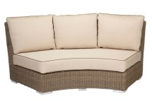 Coronado Wicker Curved Loveseat 2101-rs - Patio Productions