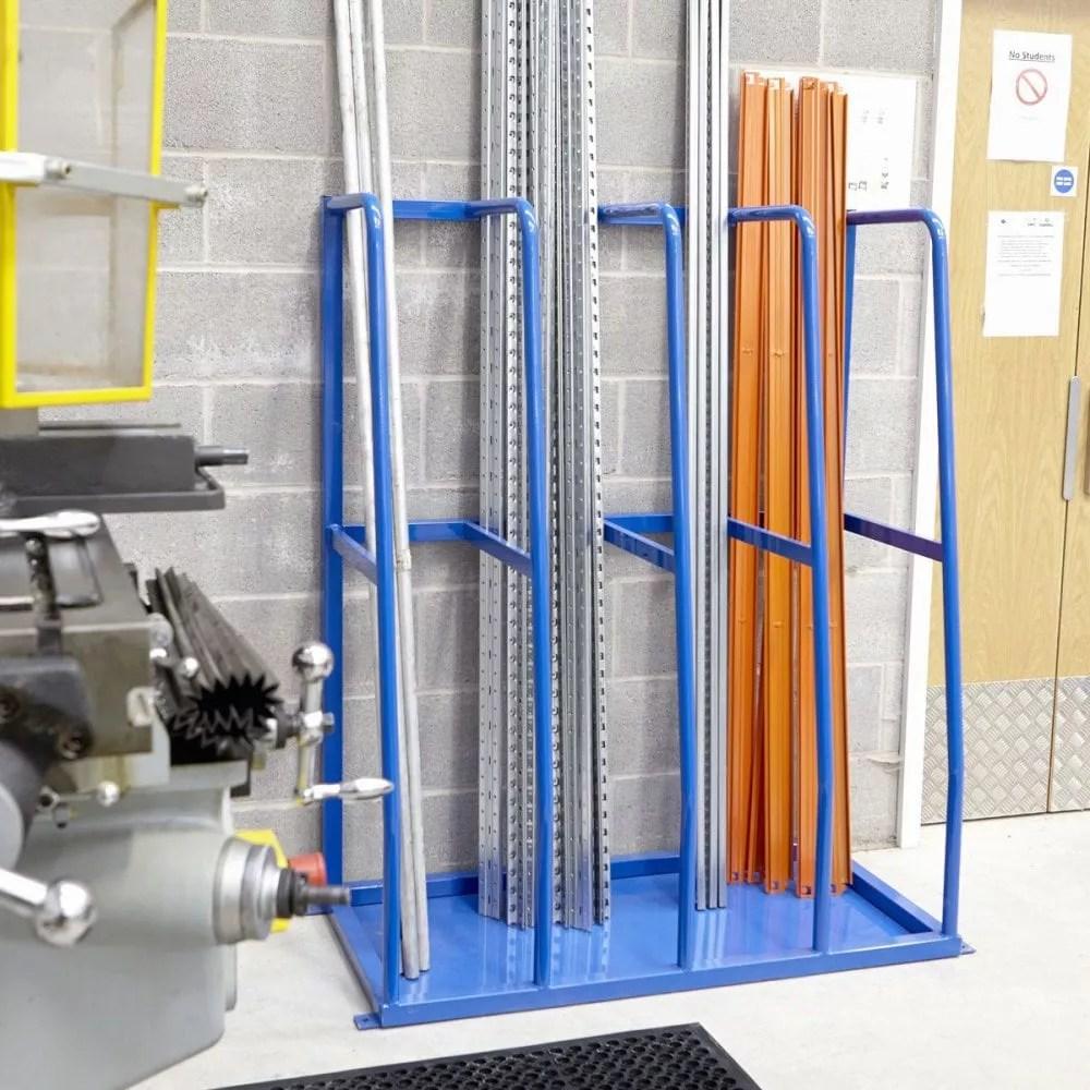 vertical storage rack system vertical