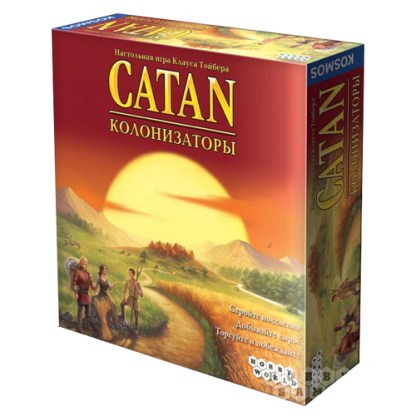 Колонизаторы. Catan