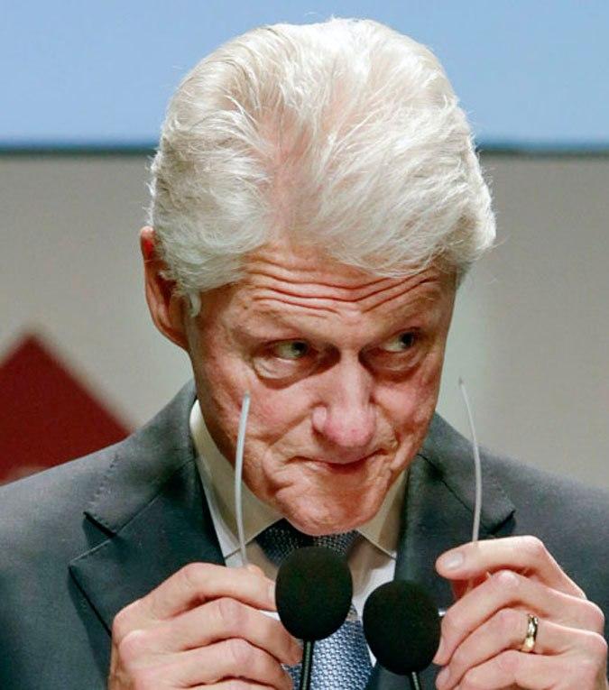 Смешные фото Билл Клинтон