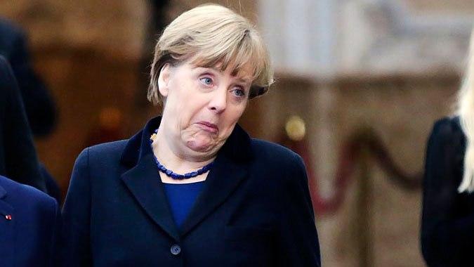 Смешные фото Ангела Меркель