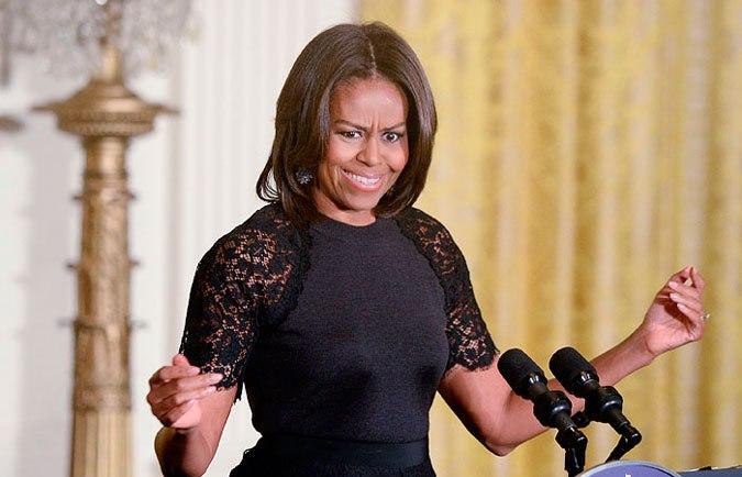 Смешные фото Мишель Обама