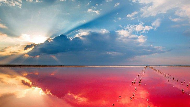 Украинское Мертвое море на Херсонщине