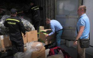 В Херсон прибыла гуманитарная помощь из-за рубежа