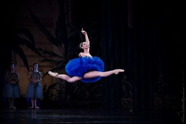 балерина Кристина Шишпор сделала 48 фуэте и попала в книгу рекордов Гиннеса Украины