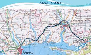 Правительство утвердило проект бетонной дороги Одесса-Херсон