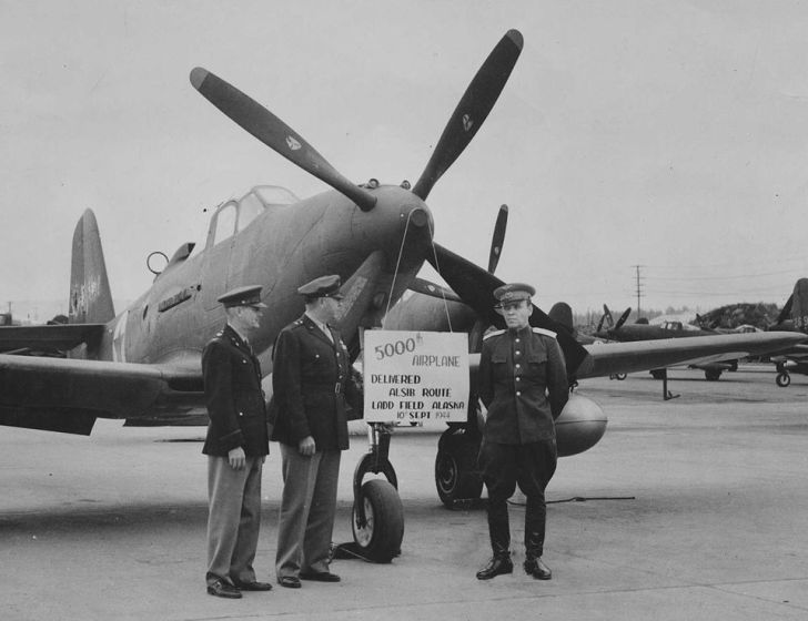 Военный Самолет ленд-лиз сша для ссср