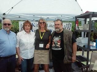 Peter Stockwell, Chris Karlsen, DV Berkom, Mark Miller author photo