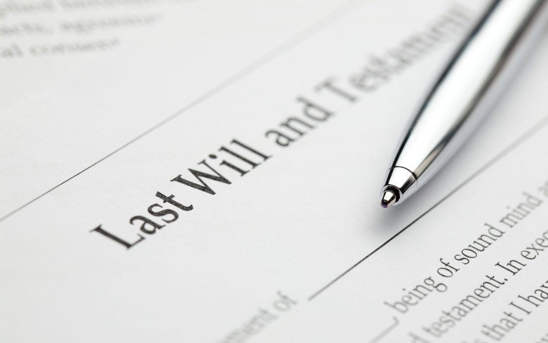 What Happens If I Die Without A Will?