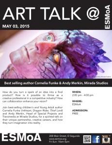 ART TALK@ ESMoA flyer FUNKE MIRADA Goyle