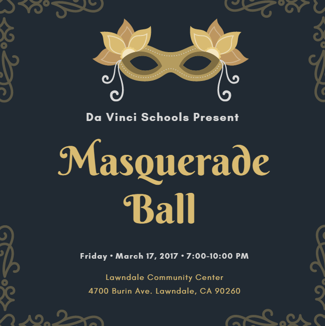 Masquerade Ball Tomorrow Also No School
