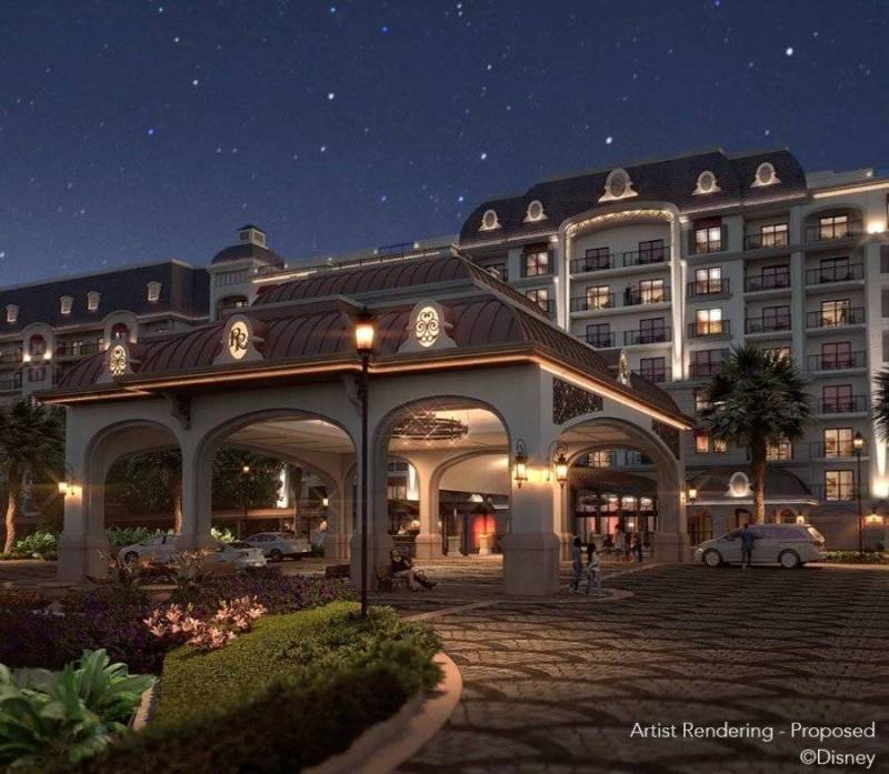 Rendering of Disney's Riviera Resort