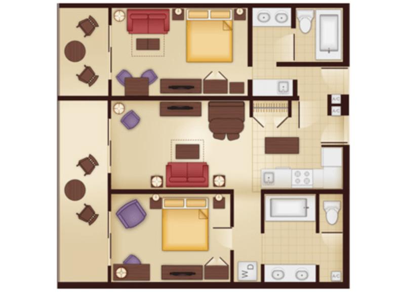 The Elusive 2 Bedroom Value Part 1 Dvc Fan