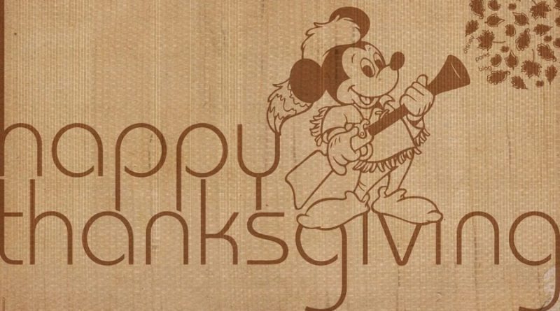 Disney Vacation Club Thanksgiving Feast